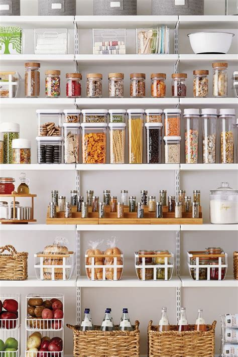 Pantry Food Recipes by Best 25 Kitchen Storage Containers Ideas On