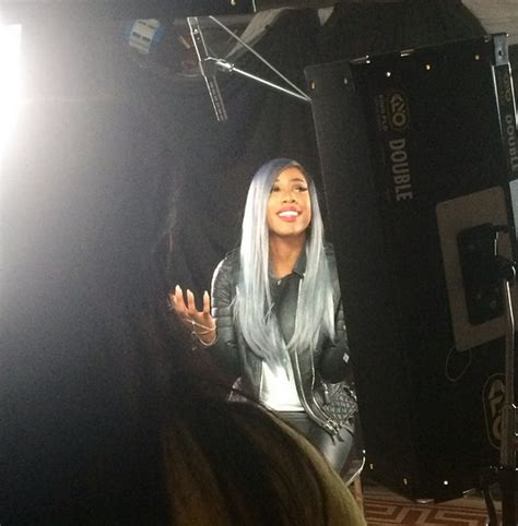 sevyn streeters hair color do or don t sevyn goes gray
