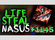 SirhcEz - INSANE LIFESTEAL NASUS WARLORD'S BLOODLUST ... Lifesteal Nasus