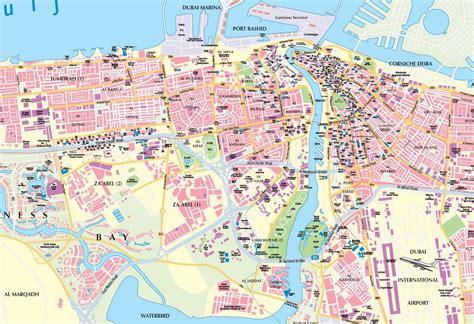 dubai global map نقشه دبی