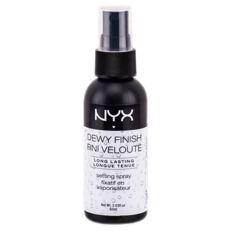 Nyx Dewy Makeup Setting Spray nyx dewy finish makeup setting spray