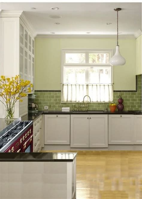 green kitchen backsplash tile 7 best images about green kitchen on