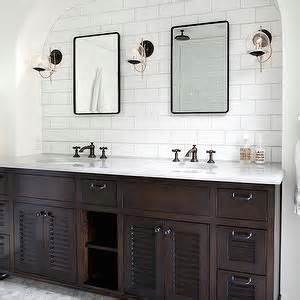 Restoration Hardware Bathroom Mirrors by Jwt Associates Bathrooms His And Hers Sinks Louvered