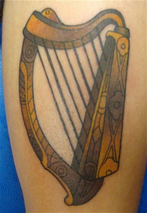 celtic music tattoo designs 83 best harps images on harp