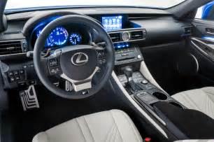Lexus Rcf Interior 2015 Lexus Rc F Interior Photo 27