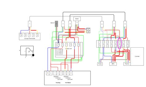 central heating thermostat wiring diagram how to wire a