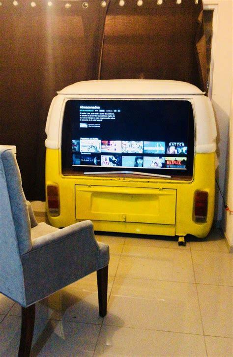 mueble tv cantina mesa barra recepcion bar cajuela vw combi  en mercado libre
