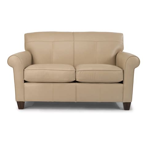 flexsteel dana sofa flexsteel b3990 20 dana leather loveseat discount