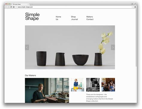 10 well designed squarespace commerce sites design milk