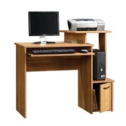 sauder beginnings oak finish computer desk home