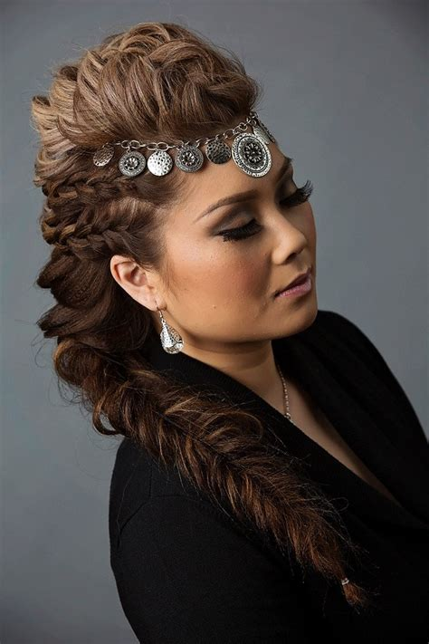 Mohawk Braid Hairstyle by 30 Braided Mohawk Styles That Turn Heads