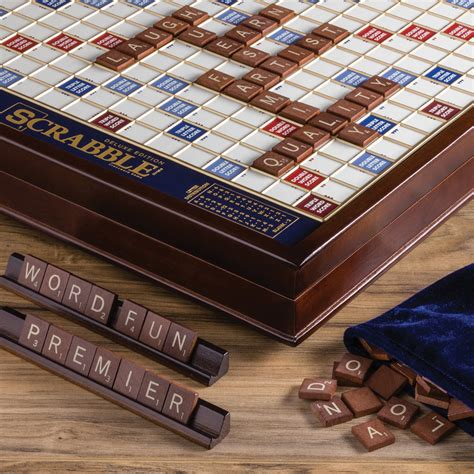 Scrabble Monopoly 2 In 1 ws company scrabble deluxe edition
