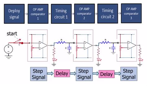 capacitor op comparator comparator timing circuit with op s and capacitors electrical engineering stack exchange