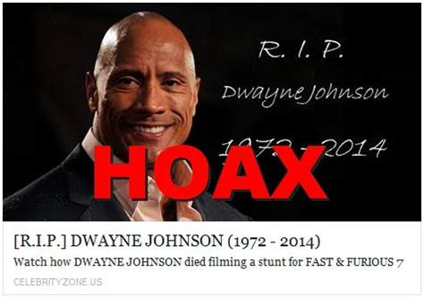 did the rock dwayne johnson died fact or fake 51 is dwayne the rock johnson dead
