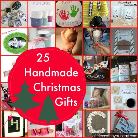 25 handmade christmas gifts a little craft in your day