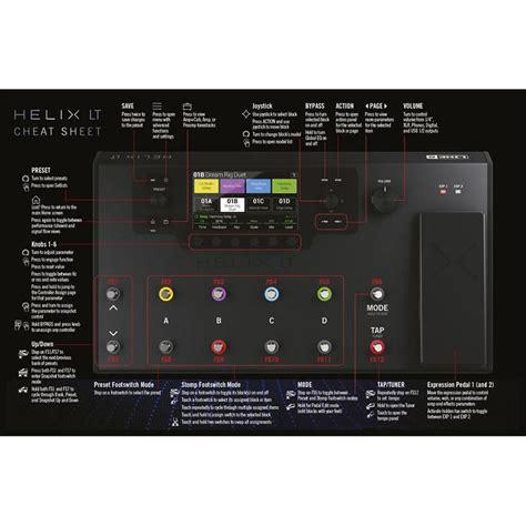Harga Efek Gitar Line 6 Helix jual line 6 helix lt guitar multi effects processor