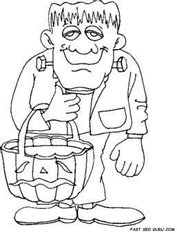 halloween coloring pages of frankenstein printable halloween frankenstein coloring pages