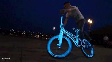 imagenes gif neon bike glow gif find share on giphy