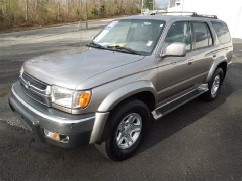Toyota Sr5 Specs 2002 Toyota 4runner Limited Specifications
