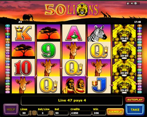 50 slot machine 50 lions slot machine