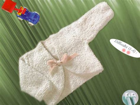 Modele Tricot Layette