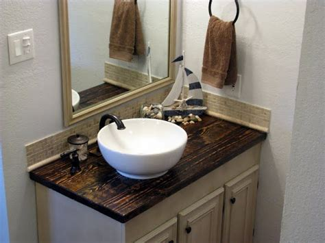 diy wood countertops bathroom great bathroom makeover with diy wood countertop decor the o jays search and