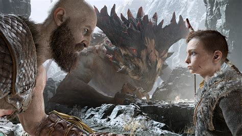 Kratos And Atreus God Of War 4 4k, HD Games, 4k Wallpapers