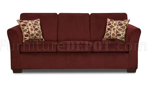 wine on couch malibu red wine fabric modern sofa loveseat set w options