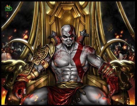 imagenes de kratos dios dela guerra el poderoso dios de la guerra kratos ilustra
