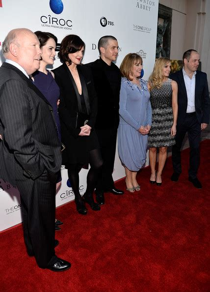 arrivals at the downton abbey event in hollywood 4 of joanne froggatt and michelle dockery photos photos