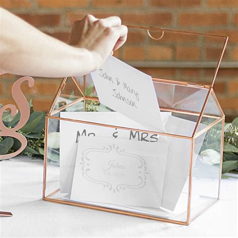Great Gift Ideas Unique Gift Certificates The Rack Stylewatch Peoplecom by Wedding Gift Card Holder Gold Glass Terrarium