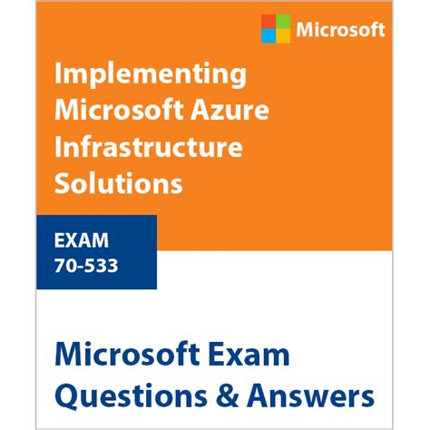 ref 70 533 implementing microsoft azure infrastructure solutions 2nd edition books 70 533 implementing microsoft azure infrastructure