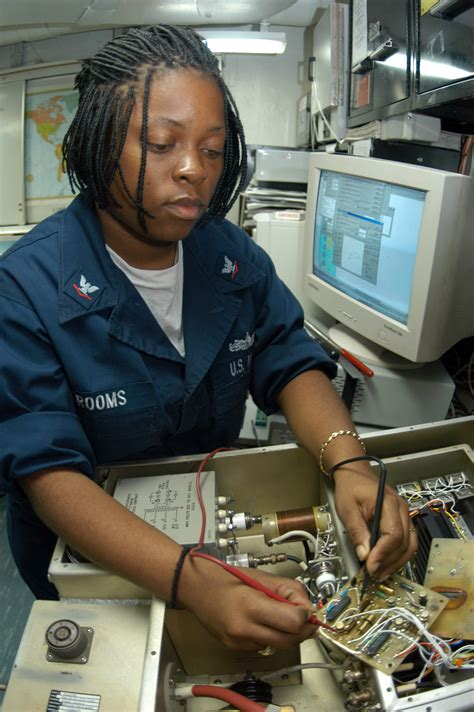 Electronics Technician Description by File Us Navy 040922 N 7695r 001 Electronics Technician 3rd Class Grooms Of Fort