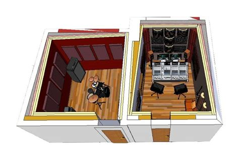 home studio design layout home recording studio vince pinterest