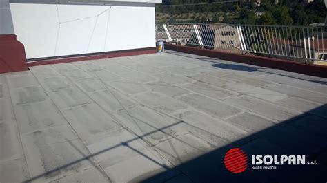 coibentazione terrazzo impermeabilizzazione ed isolamento termico terrazzo