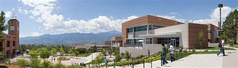 architects colorado springs osborne center for science engineering of