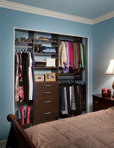 No Closet Doors Looks So Without Closet Doors Bedroom Reach In Closets Doors Closet Doors