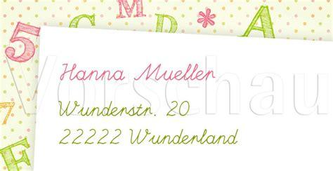 Aufkleber Buchstaben Bestellen by Bunte Buchstaben Adressaufkleber Online Bestellen