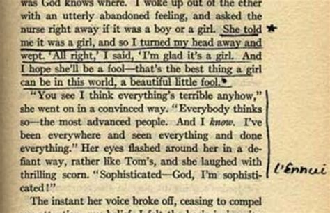 analysis of the great gatsby last page sylvia plath annotates her copy of the great gatsby open