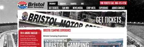 Speedway Online Sweepstakes - bristolmotorspeedway com bristol motor speedway cing experience sweepstakes