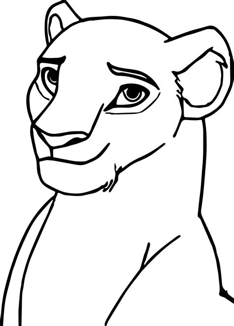 coloring pages of lion faces lion face coloring page