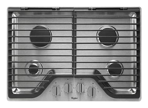 best buy gas cooktop best buy whirlpool 30 quot builtin gas cooktop stainless
