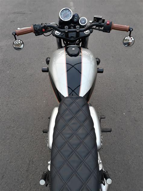 kawasaki  scrambler  insan motor bekasi bikebound