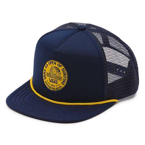 Vans Trucker Hat vans 2014 us open trucker hat shop mens hats at vans