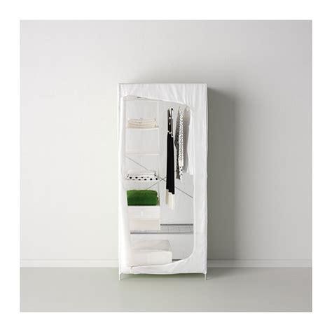 guardaroba in tessuto ikea breim wardrobe white 80x55x180 cm ikea