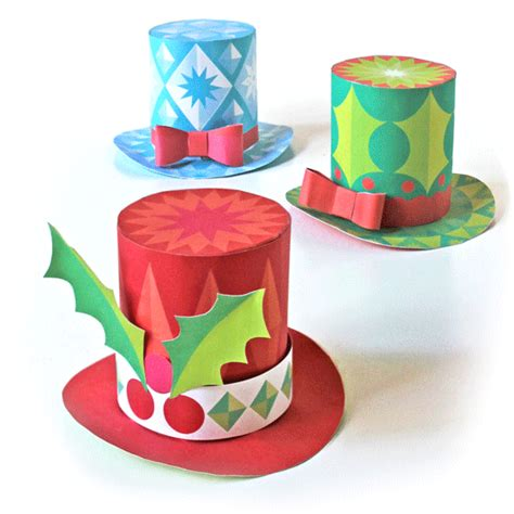 festive paper hats video tutorial make a paper party hat