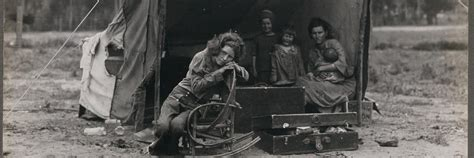 Anger In Spain At Migrant Models by Revisiting Dorothea Lange S Migrant The Great