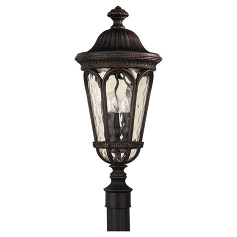 Regent Outdoor Lighting Home Decorators Collection Brimfield 3 Aged Iron Outdoor Post Light Hb7019a 292 The Home