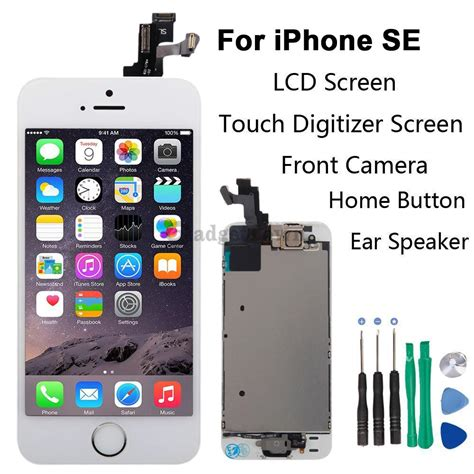Casing Nokia 8250 Transparantulangbukan Fullset set lcd touch screen digitizer assembly replacement for iphone se white ebay