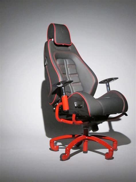 authentic ferrari office chair  racechairscom    actual seat   real